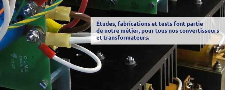 OCME inductance et filtrage